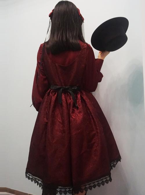 Twilight Castle Series JSK Gothic Lolita Sling Dress