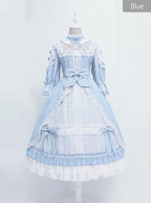 Sleeping Teresa Series Wedding Dress Classic Lolita Half Sleeve Dress