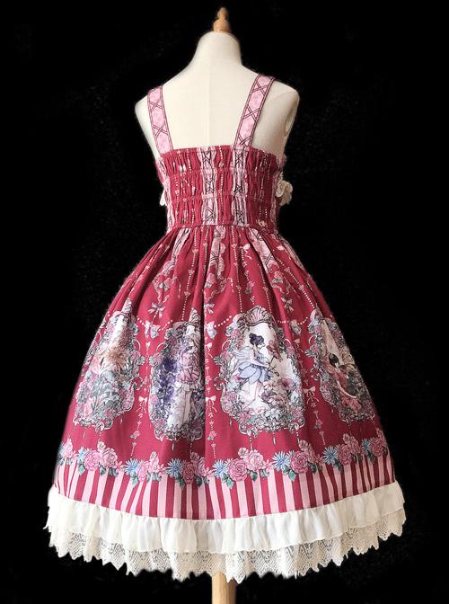 Flower Elf Series JSK Classic Lolita Dress Sling Dress