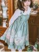 Rabbit Basket Series JSK Ruffle Classic Lolita Sling Dress
