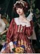 Time Machine Heart Series Classic Lolita Retro Long Sleeve Dress
