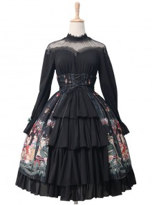 Alice's Christmas Series OP Classic Lolita Long Sleeve Dress