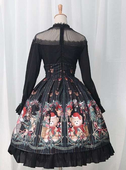 Alice's Christmas Series OP Classic Lolita Long Sleeve Dress