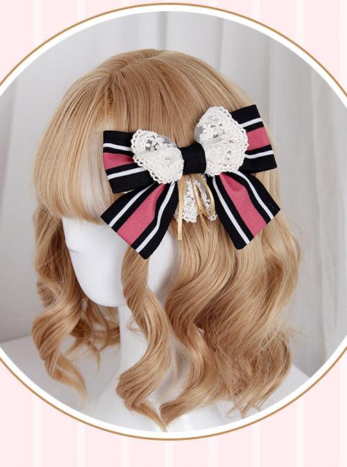 Cardcaptor Sakura Series OP Black And White Sweet Lolita Short Sleeve Dress