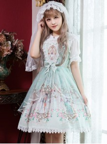 Rococo Dance Party Series JSK Classic Lolita Sling Dress