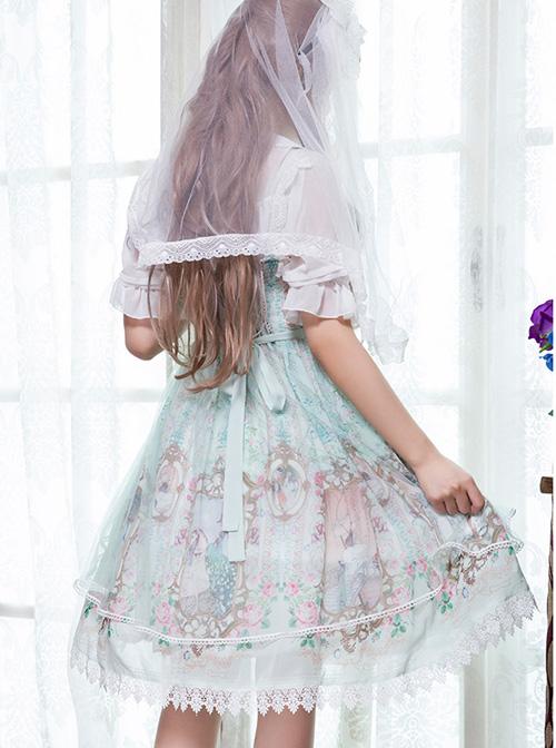 Rococo Dance Party Series JSK Classic Lolita Sling Dress