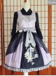 Flowers And Zither Embroidery JSK Chinese Style Qi Lolita Sleeveless Dress