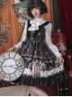 Louis Poker City Series JSK Lace Bowknot Classical Lolita Sling Dress