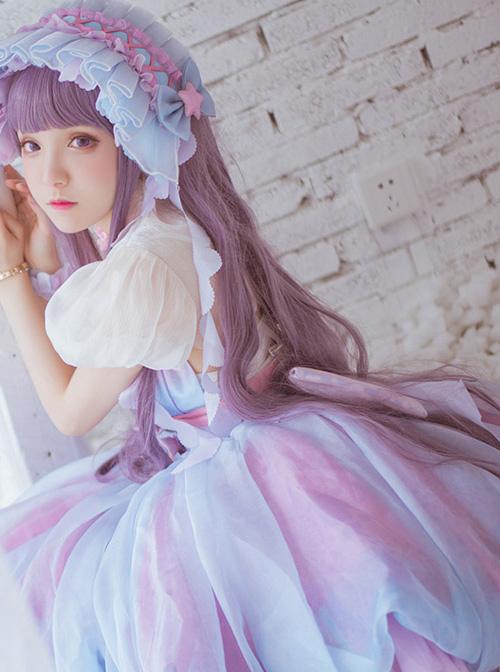 Cardcaptor Sakura Tomoyo Daidouji Costume Lolita Gradient Dress Set