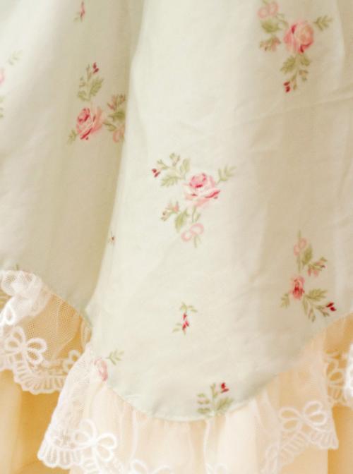 Lolita Dress Small Fresh Floral Slip Dress Summer Carrie JSK