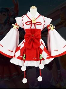 Game Character Cosplay Costumes Sweet Lolita Improved Kimono