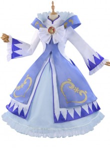 Gemini Princess Series Cosplay Costumes Pink Or Blue Sweet Lolita Dress Set