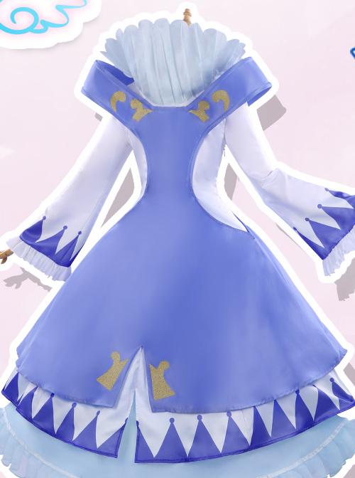 Gemini Princess Series Cosplay Costumes Pink Or Blue Sweet Lolita Dress Set