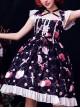 Apples Paradise Series Cute Printing Sweet Lolita Sling Dress