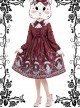 Magic Tea Party Rose Knight Series Classic Lolita Long Sleeve Dress