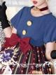 Circus Rabbit Series OP Bowknot Sweet Lolita Short Sleeve Dress