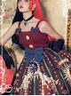 Circus Rabbit Series JSK Bowknot Retro Sweet Lolita Sling Dress