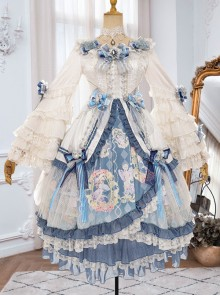 Vivienne Series Elegant Gorgeous Tea Party Style Classic Lolita Dress