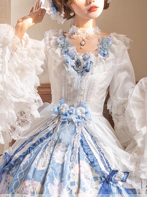 Vivienne Series Elegant Gorgeous Tea Party Style Classic Lolita Dress