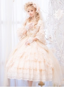 Moonlight Dance Party Series Gorgeous Dress Classic Lolita Wedding Dress