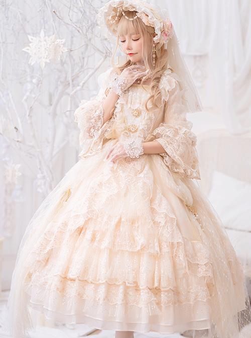 Moonlight Dance Party Series Gorgeous Dress Classic Lolita Wedding Dress