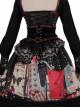 Playing Card Maze Series Retro Punk Lolita Long Sleeve Dress Set