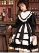 Dark Gold Hymn Series OP Gothic Lolita Long Sleeve Dress