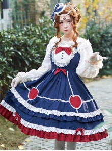 Small Pudding Series JSK Sweet Lolita Sling Dress