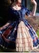 Earl Cat Lady Series OP Classic Lolita Short Sleeve Dress