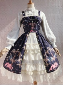 Peacock Cross Series JSK Classic Lolita Sling Dress