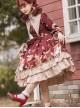 The Sweetheart Bear Tea Party Series OP Sweet Lolita Long Sleeve Dress