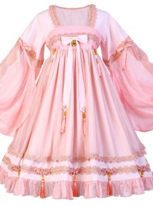 Koi Series OP Chinese Style Sweet Lolita Long Sleeve Dress