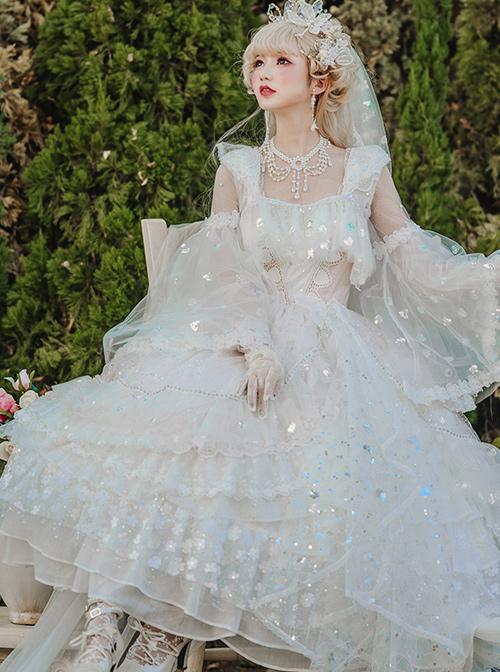 Flower Fairies Series OP Tea Party Design Classic Lolita Gorgeous Dress