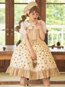 Angel's Bear Series JSK Sweet Lolita Sling Dress