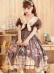 Pharmacist Series OP Doll Collar Sweet Lolita Short Sleeve Dress