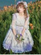 Flower Cage Museum Series JSK Sweet Lolita Sling Dress