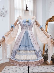 Goblin Overture Series JSK Elegant Classic Lolita Long Dress