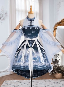 Walk With Whales Series OP Sweet Lolita Dress