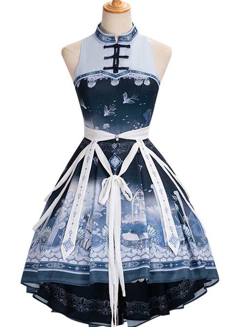 Walk With Whales Series OP Sweet Lolita Dress