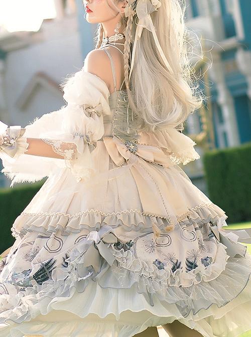 Rose Maiden Series OP Retro Palace Style Classic Lolita Dress