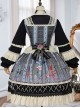 Sparrows In The Mirror Series OP Retro Classic Lolita Long Sleeve Dress