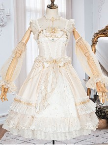 Starry Night Series JSK Special Design Elegant Palace Style Classic Lolita Dress
