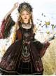 Eye Of Red Heart Series JSK Retro Palace Gothic Lolita Dress