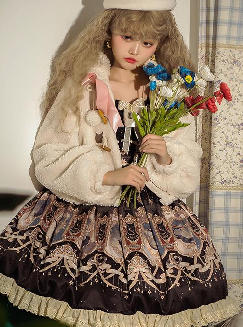 Explore The Stars Series JSK Sweet Lolita Sling Dress And Short Coat Set