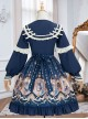 Explore The Stars Series OP Classic Lolita Long Sleeve Dress
