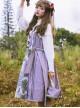 Grape Princess Series JSK Elegant Classic Lolita Sling Dress