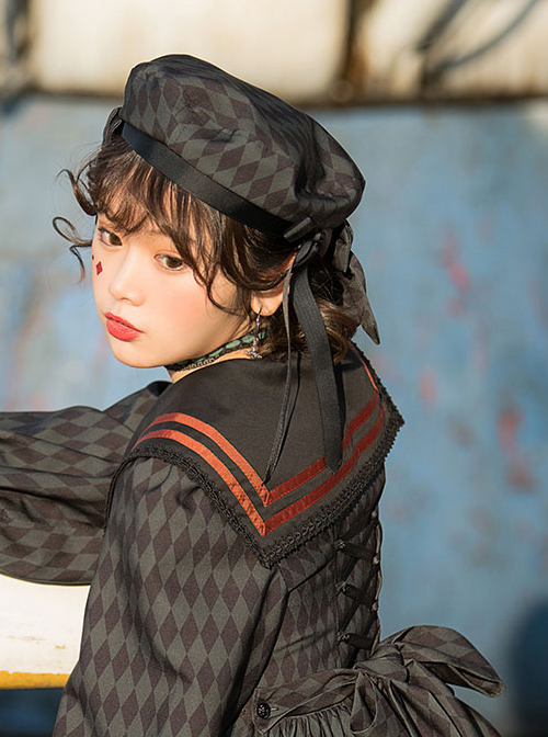 Ten Little Indians Series OP Gothic Lolita Long Sleeve Dress