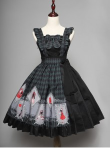 Ten Little Indians Series JSK Gothic Lolita Sling Dress