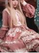 Strawberry Milk Cover Series OP Idyllic Style Sweet Lolita Long Sleeve Dress