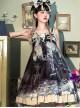 Romantic Dream In Garden Series Retro Chinese Style Printing Classic Lolita Dress